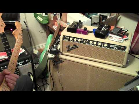 Spanish Castle Magic on Two Cranked Vintage Fender Amps