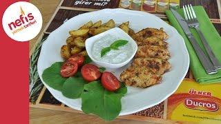 Pratik tarif: Terbiyeli tavuk kanat ve Elma dilim patates
