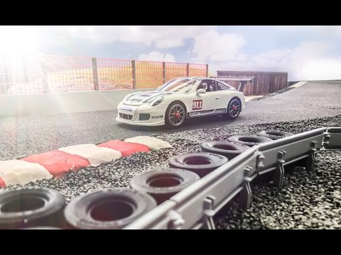 playmobil porsche 911 gt3 cup reportage kurzfassung. Black Bedroom Furniture Sets. Home Design Ideas