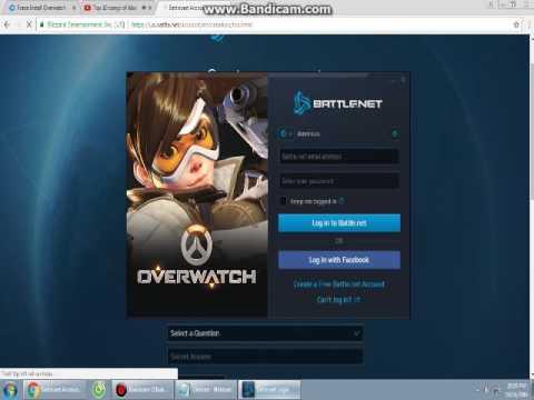 Hướng Dẫn Download Overwatch free 100%