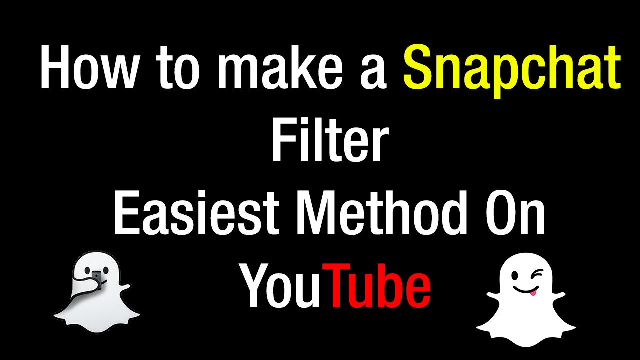 How to make your own snapchat filter for personal use mac or windows not a geofilter youtube for How to make a snapchat geofilter for free