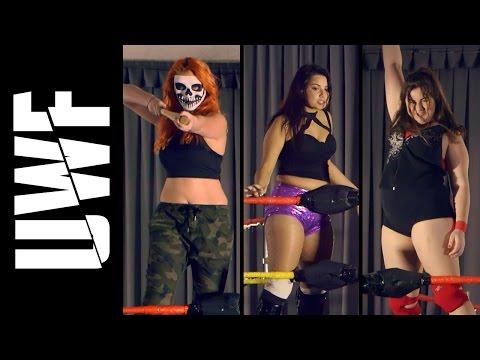 Tarlee VS Jasmin VS Bindi Valentine | Women's Triple Threat Match | UWF Charity Cup Invitational