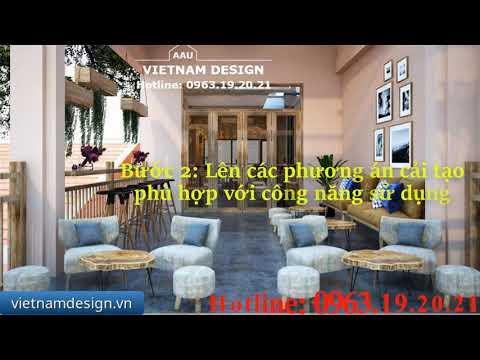 báo giá thiết kế nội thất quán cafe