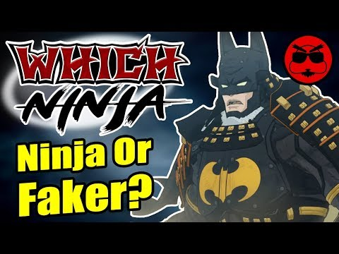 Is BATMAN A Real Ninja!? - Which Ninja