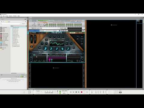 Tribute Wavetable Synthesizer Rack Extension Overview