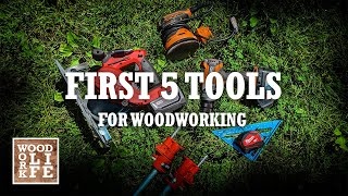 5 Best Woodworking Tools to get You Started | Shop Tips