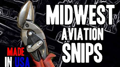 Midwest Aviation Snips - MADE IN USA