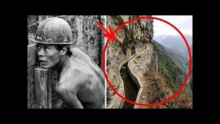 He went into the mountains every day for 36 years…  After a while, people saw a 10 km tunnel...