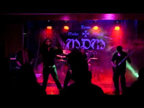 The Drowning - Live at Malta Doom Metal Festival 2013