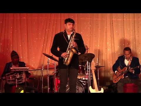 Na Kajre Ki Dhaar Instrumental Saxophone ARIF (guitar Saxophone)13/1/2020 Live SIBBEL GREEN  Raipur