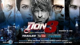 #DON3 | Shahrukh Khan | Action Comedy Movie | ZERO DON3 Movie Trailer 2018 | BEHIND ᴛʜᴇ SCENE