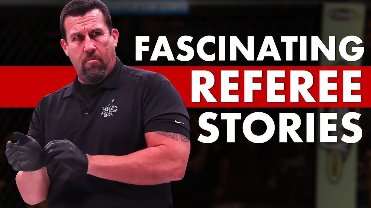 10 Fascinating Stories Behind MMA's Most Famous Referees
