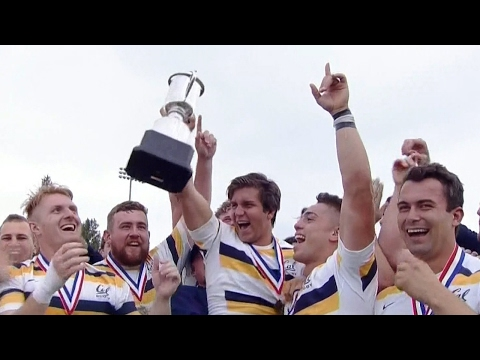 Highlights: Cal Rugby 15s win 2017 Penn Mutual Varsity Cup National Championship