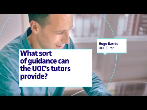 What sort of guidance the UOC's tutors provide? I UOC