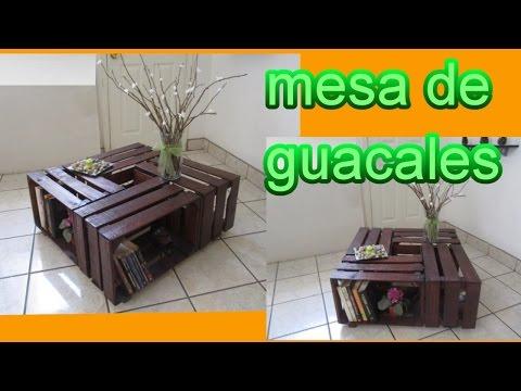 Mesa de centro hecha con Pallets/Tarimas (Reto con walter ...