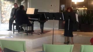 Saint Saens Violin Sonata no.1, in D minor, First Movement Allegro Adgitato
