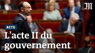 Acte II du quinquennat : le résumé du discours d'Edouard Philippe à l'Assemblée