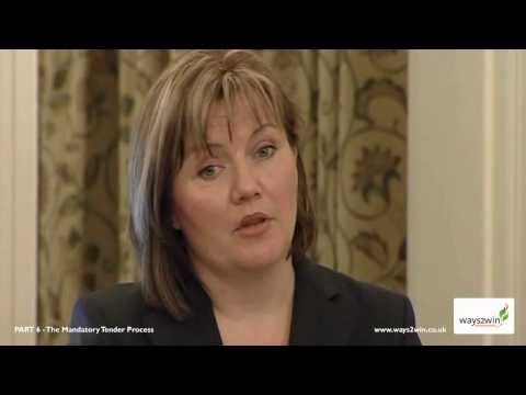 W2W 06 - The Mandatory Tender Process