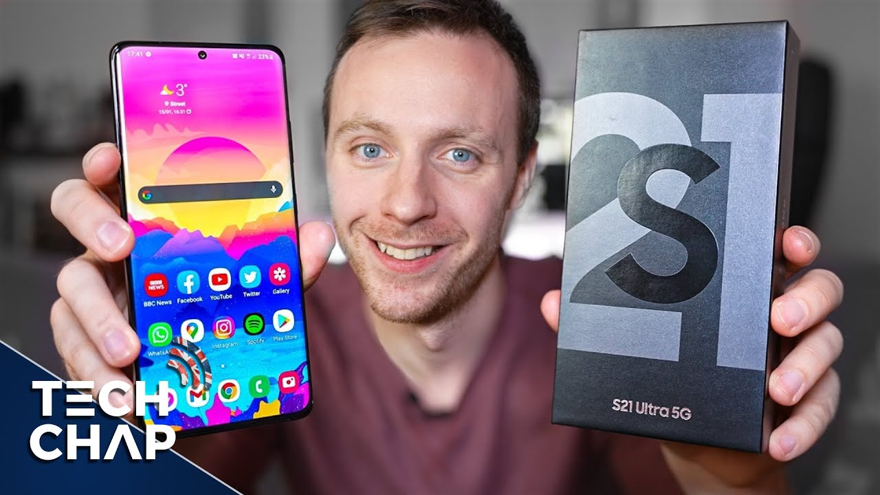 My Samsung Galaxy S21 ULTRA First Impressions!   The Tech Chap - download from YouTube for free