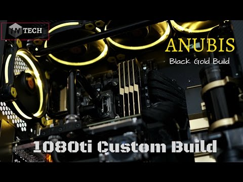 $2500 Ultimate Custom Loop Build 2017 | 1080TI ANIDEES AI Crystal Lite