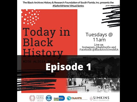 Today In Black History - Episode 1