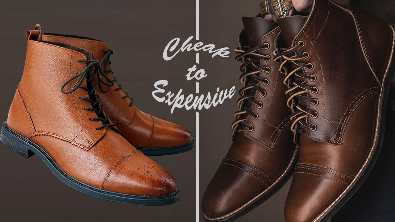 665829465838e How to Make Cheap Boots Look Expensive - YouTube