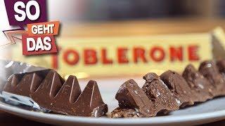Wie schwer ist es, Toblerone selber zu machen?