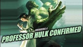 Avengers Infinity War Professor Hulk (SMART) Confirmed for Avengers 4