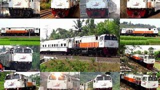 Semboyan 35 Lokomotif CC 206 series Indonesian Locomotive s Hornsound