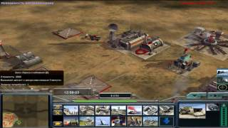 Command & Conquer: Generals - Zero Hour Contra 007 [1vs7]