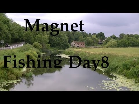 Magnet Fishing Day 8 (+Helmet Update) - Treasure Hunting - S