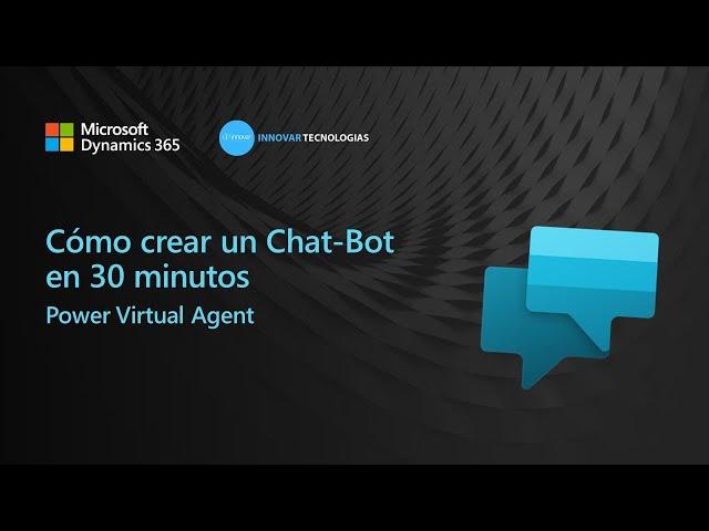 Webinar Cómo crear un chat-bot sin código en 30 minutos