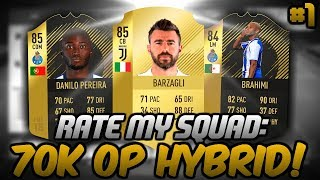 FIRST RATE MY SQUAD OF FIFA 18! - RATE MY SQUAD #1 - FIFA 18 ULTIMATE TEAM