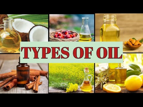 Types of oil   ବିଭିନ୍ନ ପ୍ରକାର ତୈଳ   Different oil names   oil name list in English and Odia