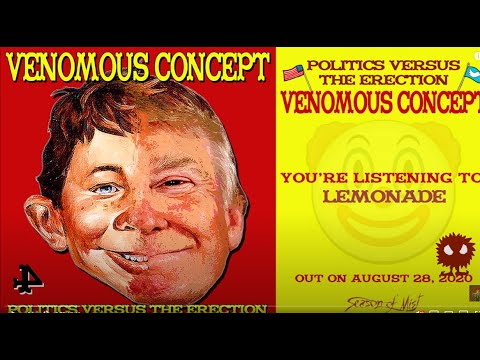 VENOMOUS CONCEPT (Brutal Truth/Napalm Death) new song Lemonade off new album!