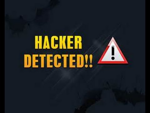 Im just reporting a hacker!