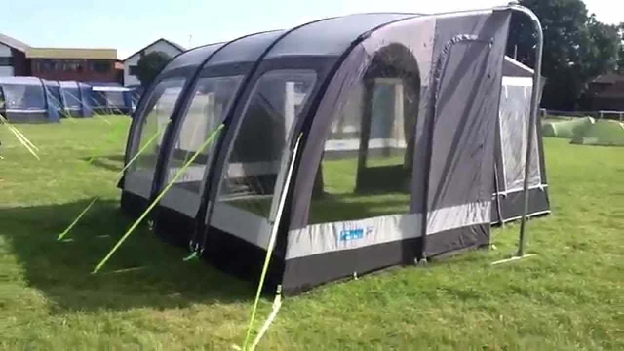 New Kampa Rally Air Inflatable Awning Youtube