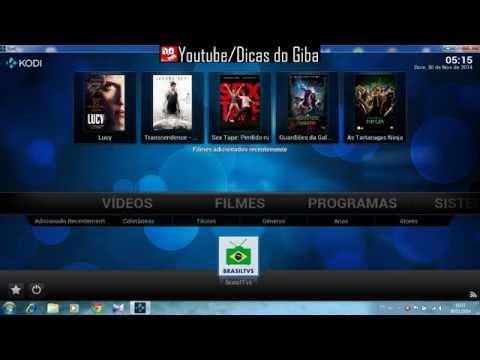 ADDON BRASIL TVS com canais do brasil