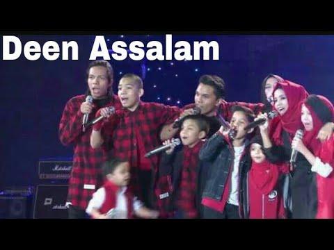 GEN HALILINTAR - DEEN ASSALAM LIVE PERFORMANCE