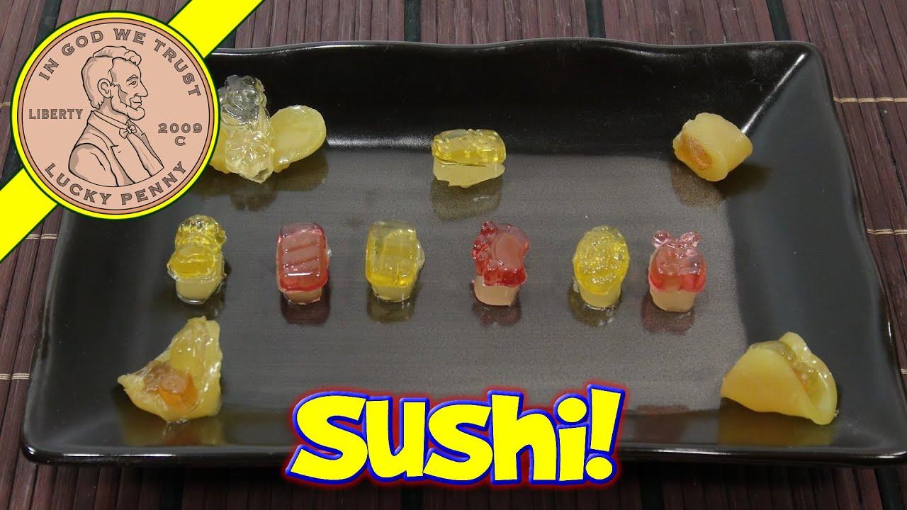 meiji sushi cookie gummy japanese diy candy kits youtube. Black Bedroom Furniture Sets. Home Design Ideas