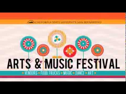 2013 Arts & Music Festival at Cal State San Bernardino