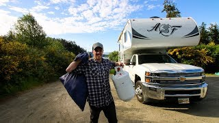 Full-Time LIVING in a TRUCK CAMPER ?? | RV LIFE