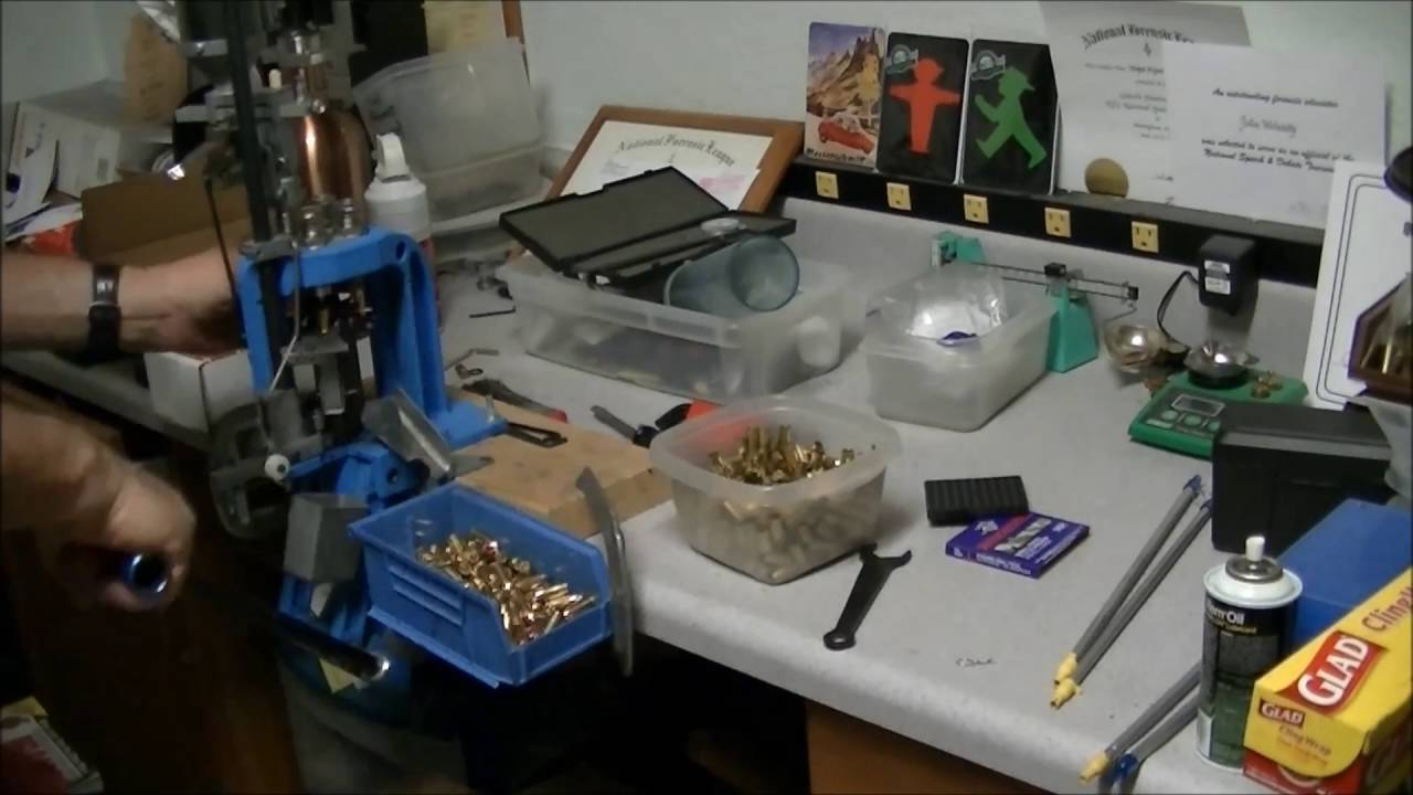 Loading 9mm on the Dillon 550