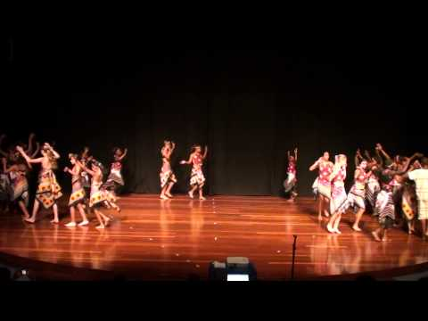 One Fine Day & ISK dance exchange performance of PING in May 2014