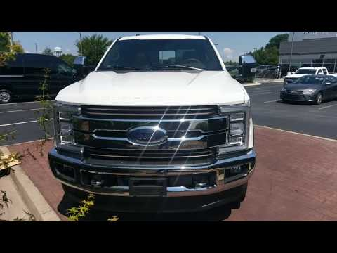 2018 Ford F350 King Ranch - Oxford White