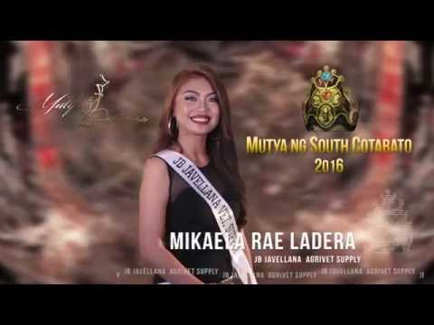 Mutya ng South Cotabato 2016   Top 5