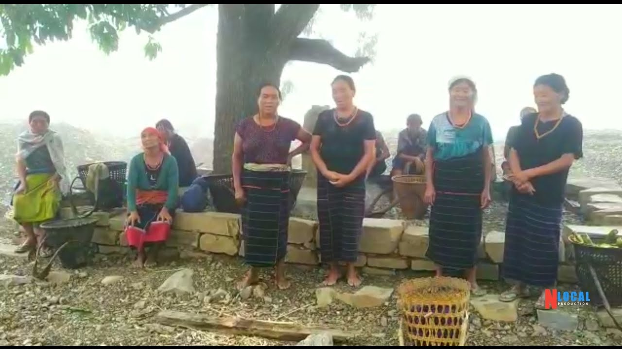 Naga folk tune Hojale: Thenyizumi Mele kro (peer group)