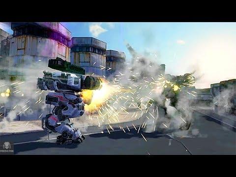 Rhino & Lancelot Obliterating   Heavy Duty Machines   War Robots