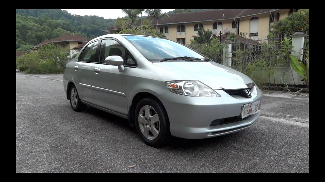 2003 honda city i dsi start up full vehicle tour and quick drive rh youtube com honda city 2003 manual olx Honda City 2014