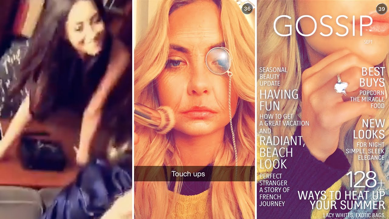 Ashley Benson September Th FULL SNAPCHAT STORY - 36 cleverest snapchats ever sent